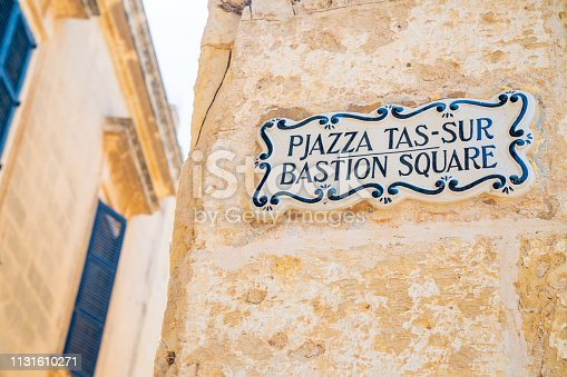 istock architecture of the old town of Mdina on Malta. 1131610271