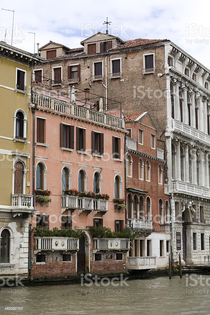Architecture of the Venice royalty-free stock photo