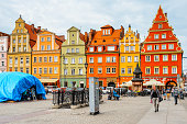 Architecture of Wroclaw, Poland