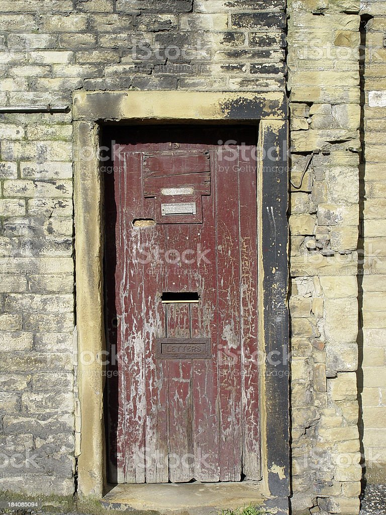 Architecture - Old Door royalty-free stock photo