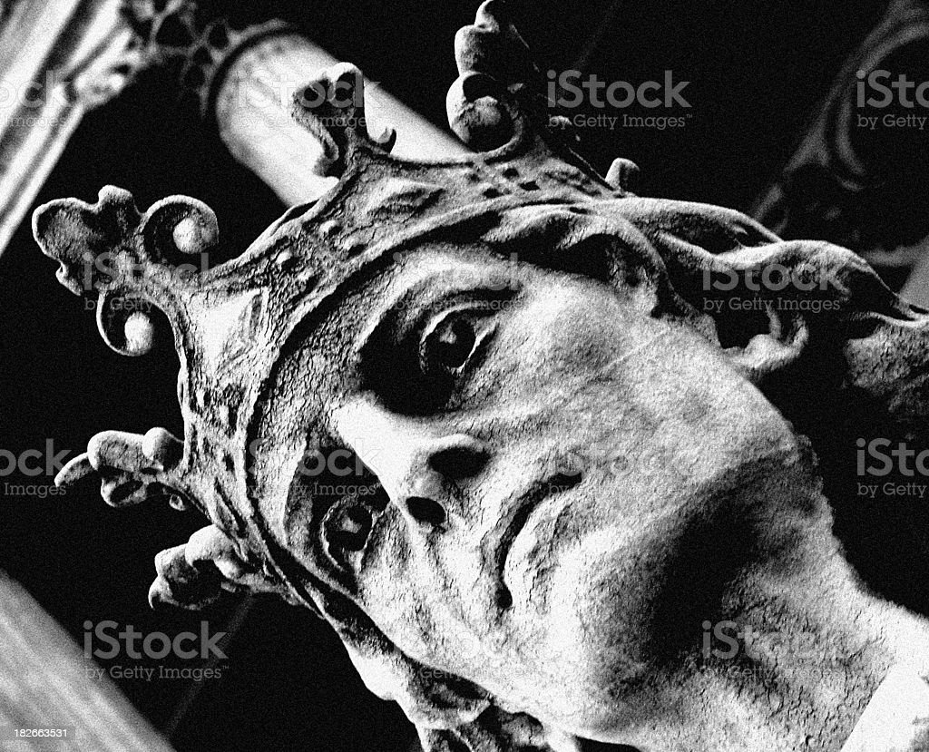 Architecture - Old Statue royalty-free stock photo