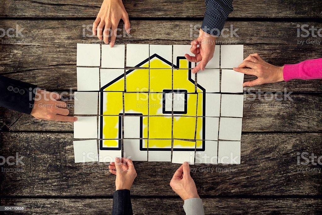 Architektur und Immobilien-Konzept – Foto