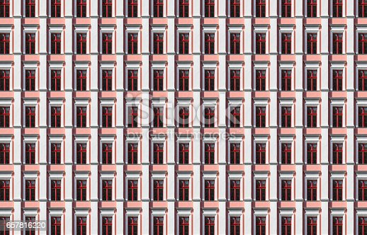 istock architecture pattern, window of an old berlin house 657816220