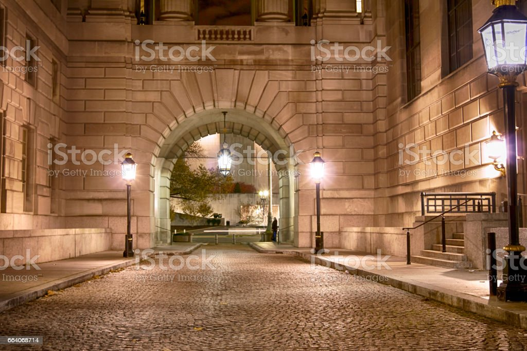 DC architecture stock photo