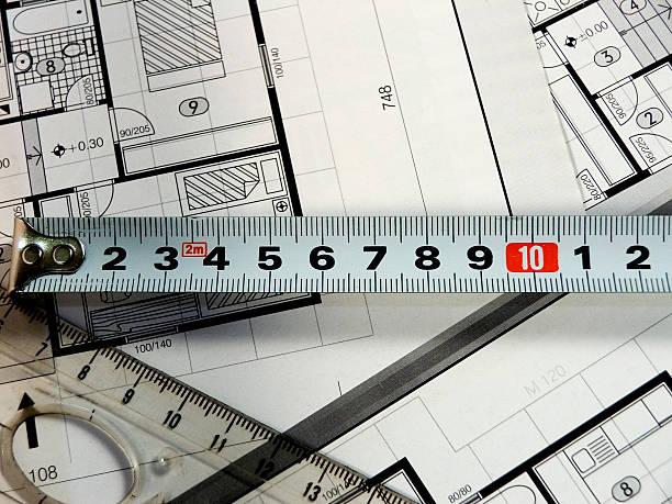 architecture planning - paper mass bildbanksfoton och bilder