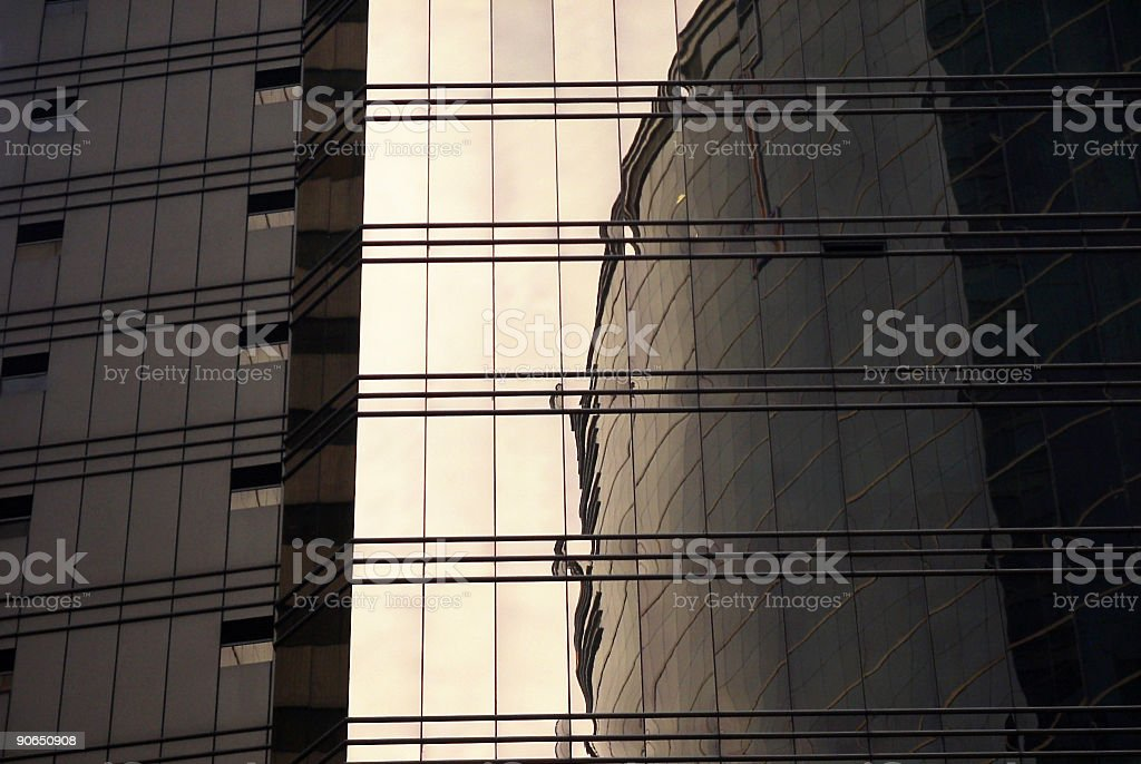 Architecture Reflection stock photo