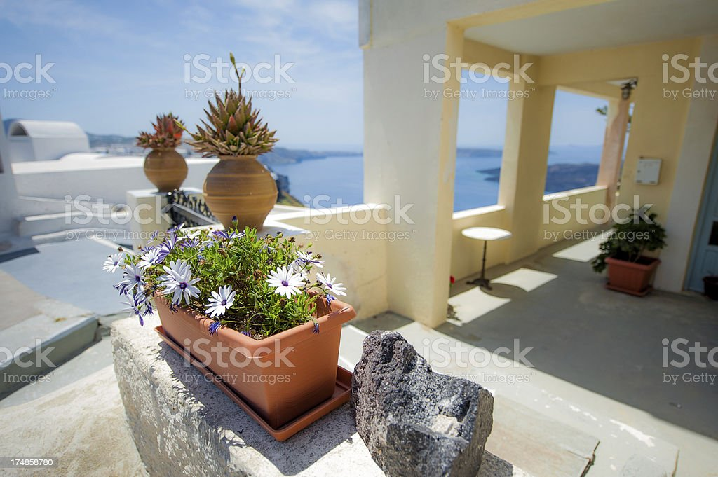 Architecture Santorini royalty-free stock photo