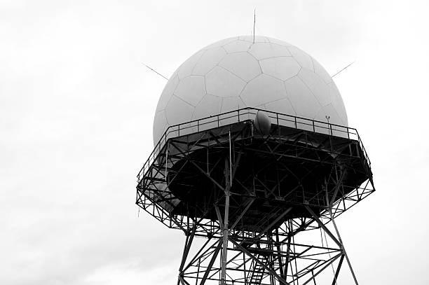 Architecture - Secret Government Radio  Tower 2 stock photo