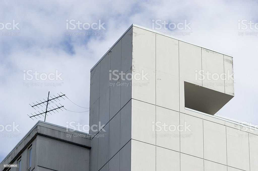 Architecture Seventies Modern royalty-free stock photo