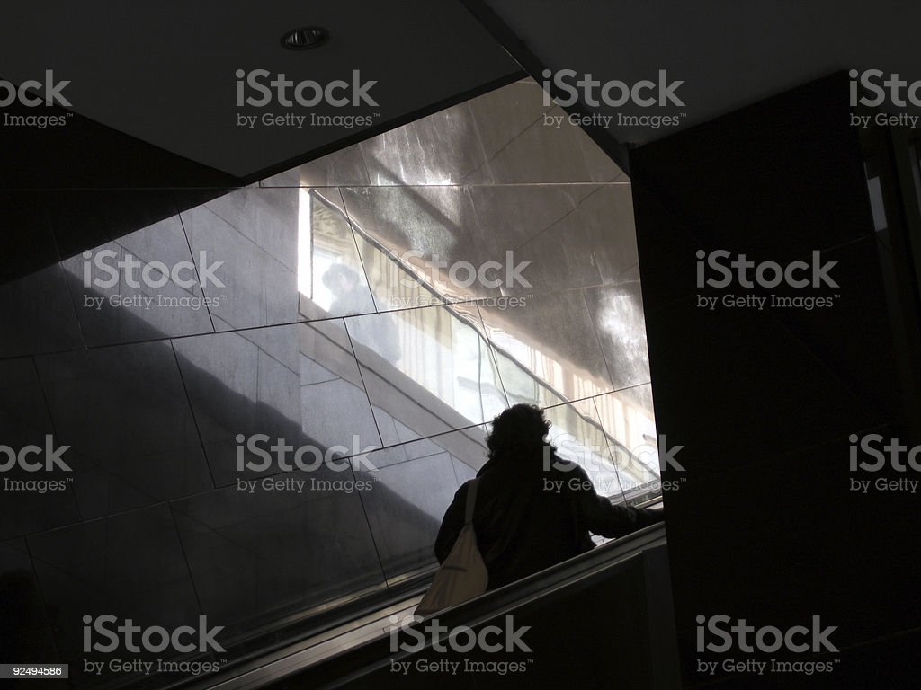 Architecture - Shadows royalty-free stock photo