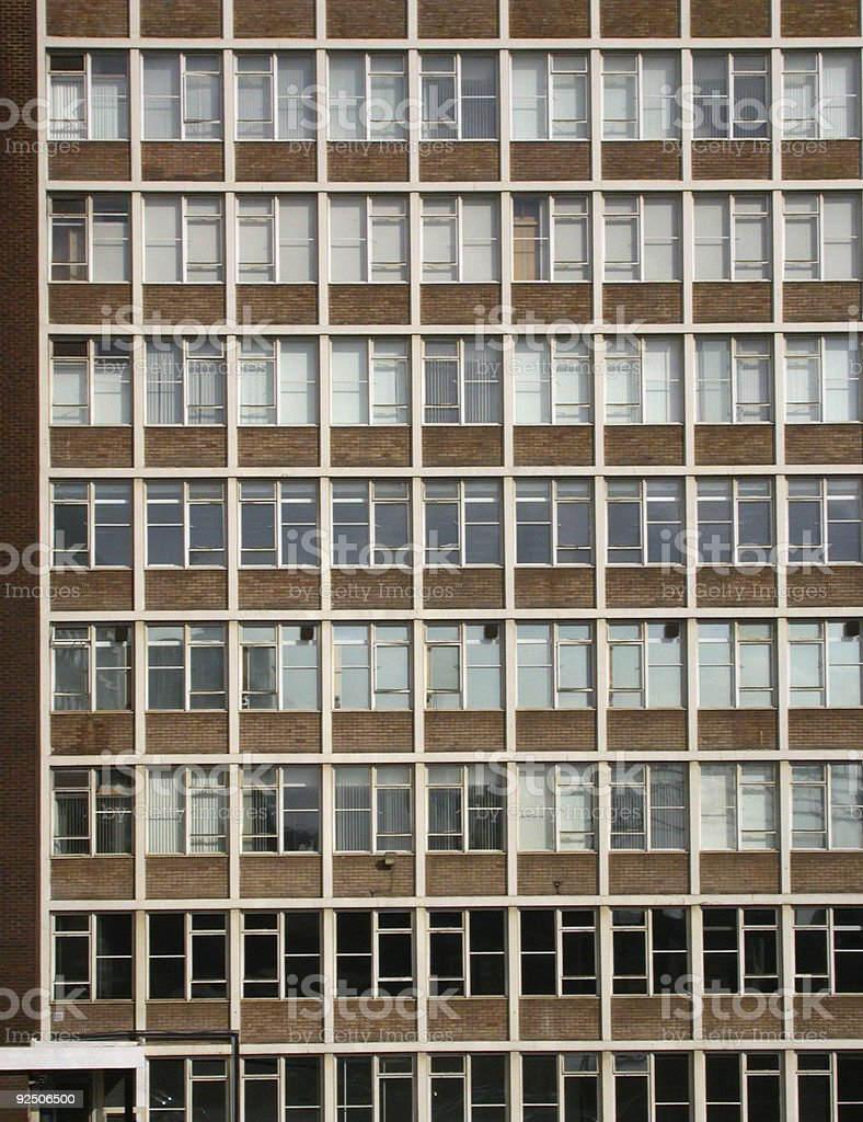 Architecture - Sixties Office royalty-free stock photo