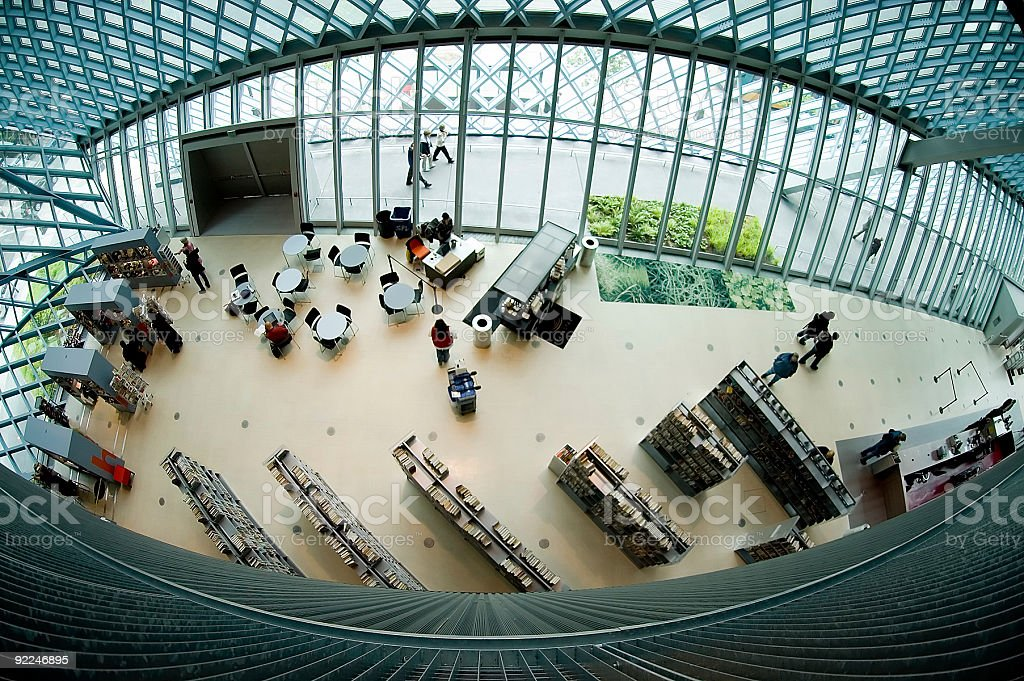 Architecture - SPL Interior 5 royalty-free stock photo