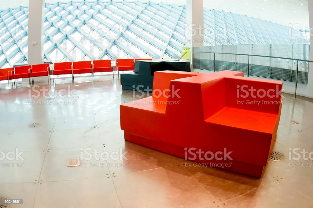 Architecture - SPL Interior 6 royalty-free stock photo
