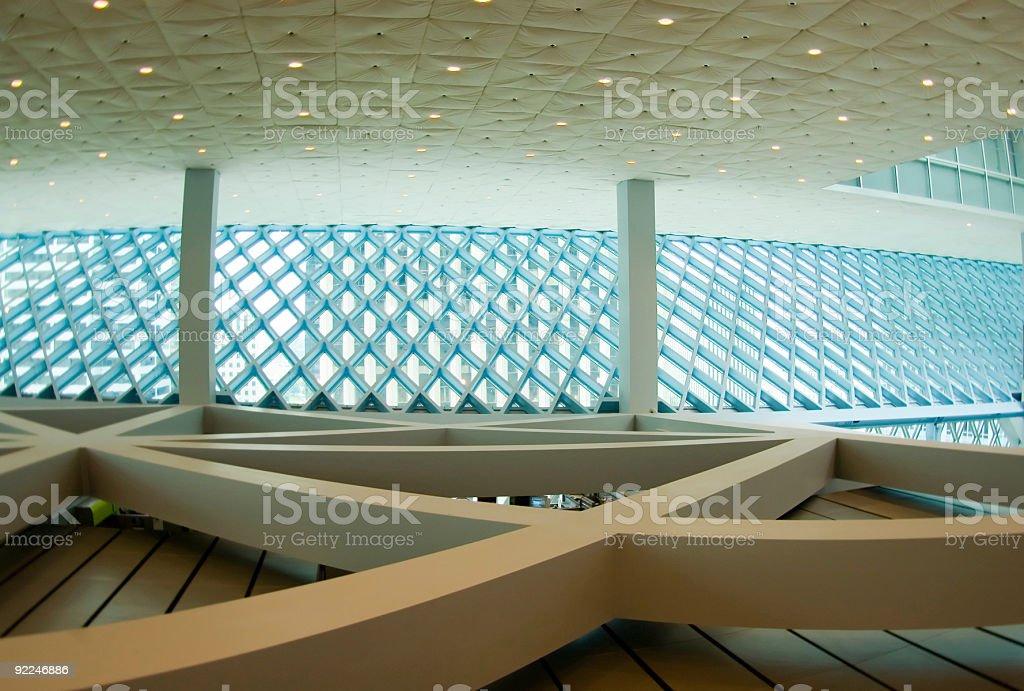 Architecture - SPL Interior 7 royalty-free stock photo