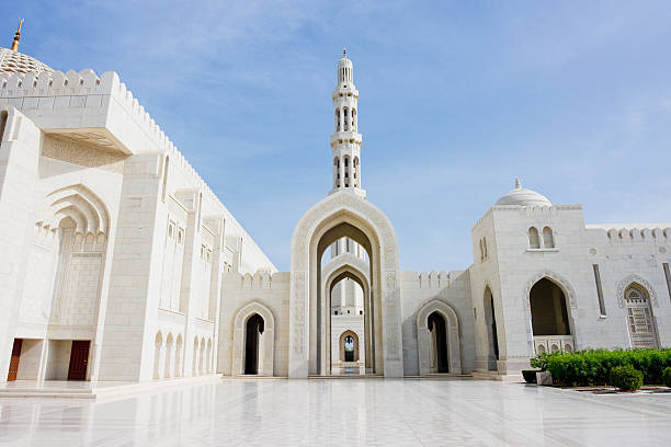 Architecture Sultan Qaboos Grand Mosque  grand mosque stock pictures, royalty-free photos & images