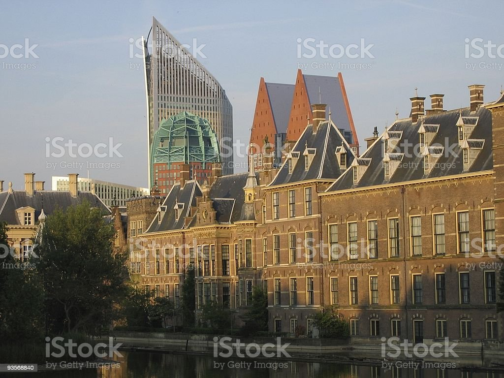 Architecture The Hague royalty-free stock photo