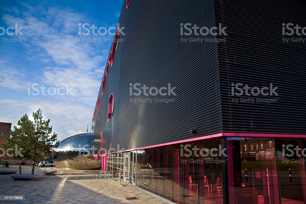 Architecture: 'The Public' Art Gallery, West Bromwich, UK stock photo