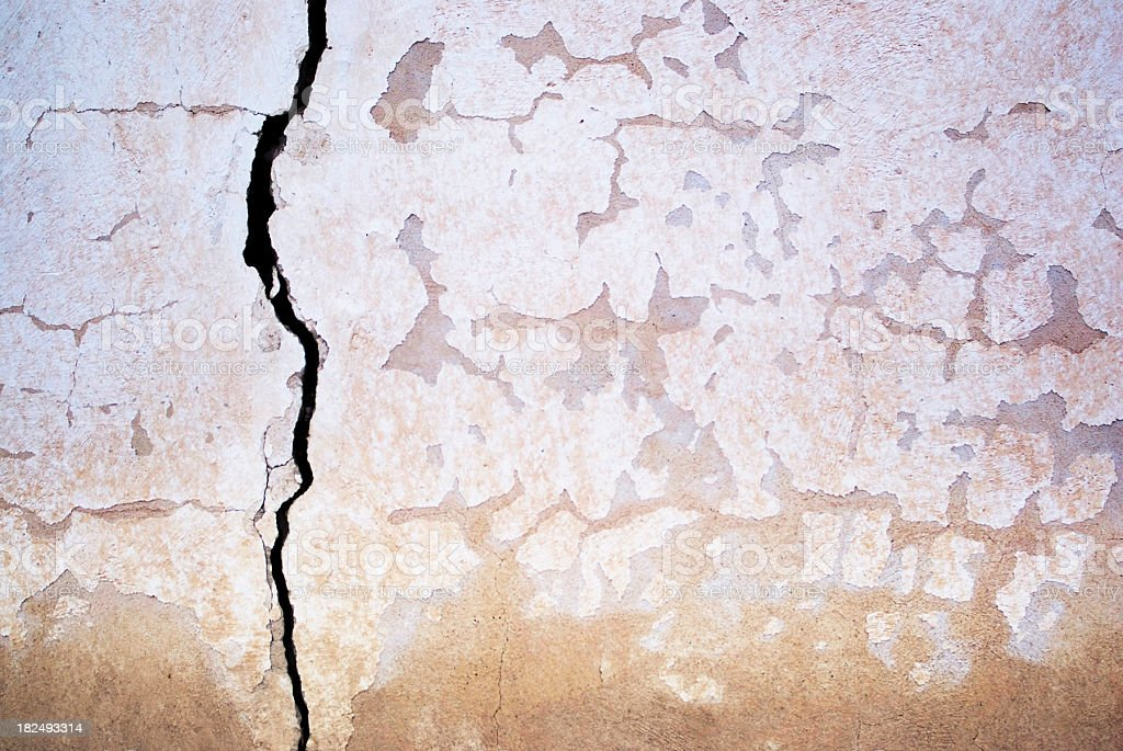 architecture wall crack abstract stock photo