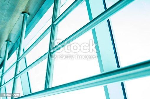 533437662 istock photo Architecture window modern close up 868678588