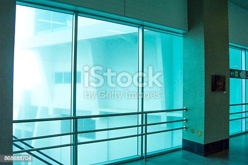 533437662 istock photo Architecture window modern glass light in 868688704
