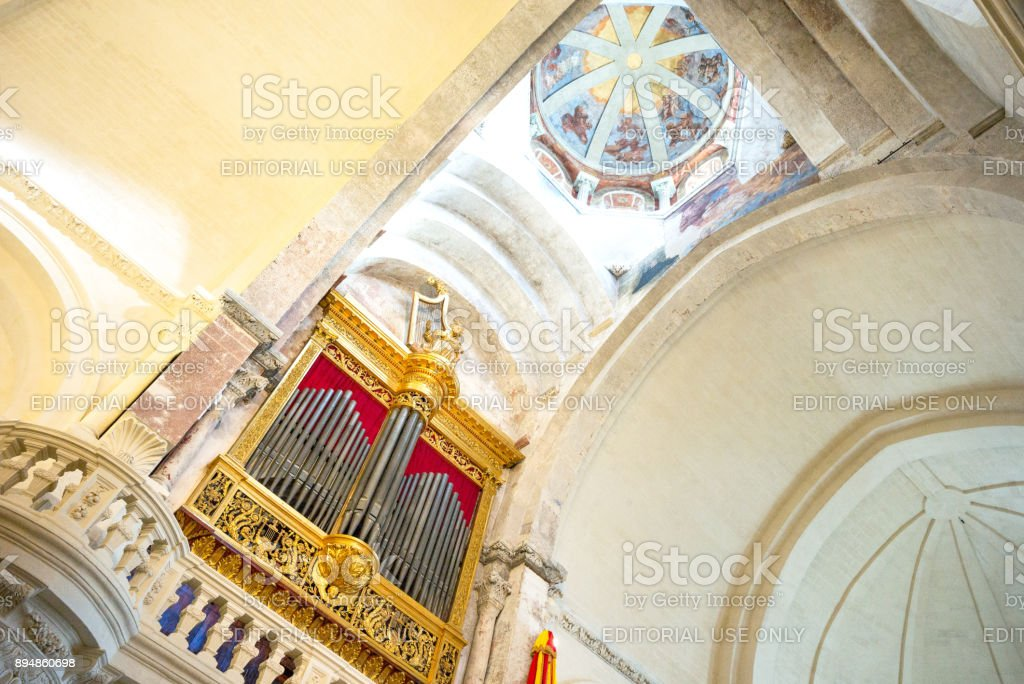 Architectures and monuments of Avignon stock photo