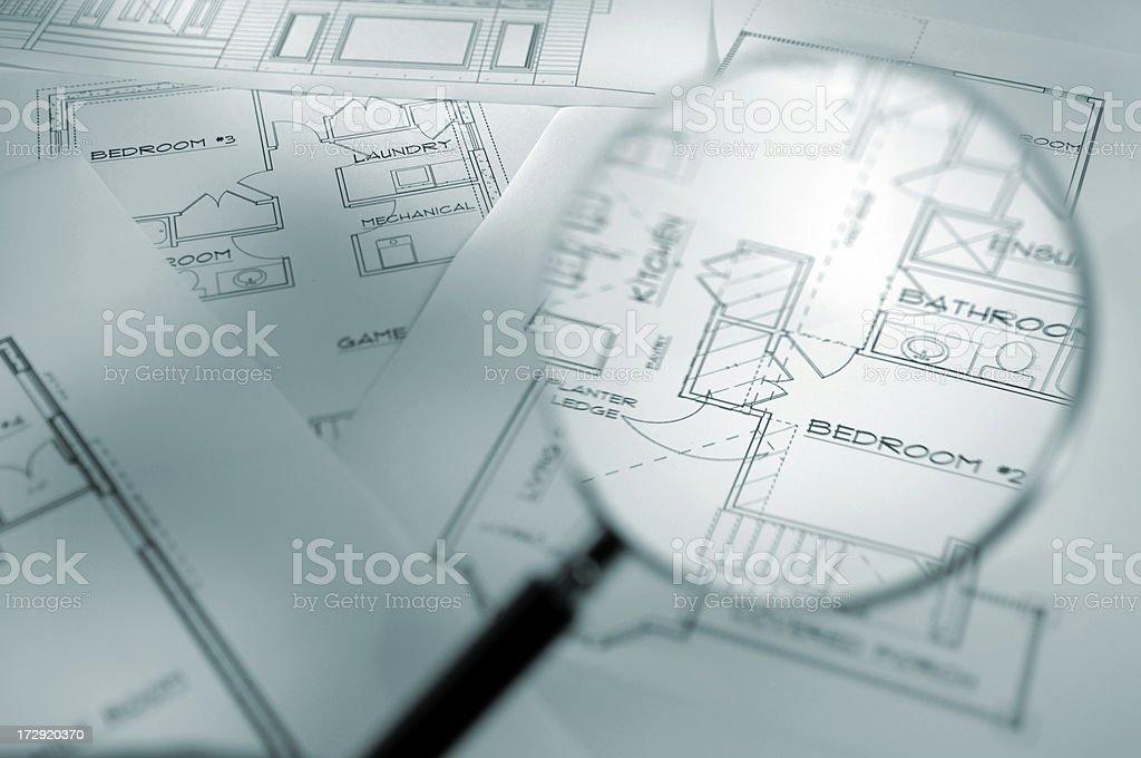 architecural plans series royalty-free stock photo