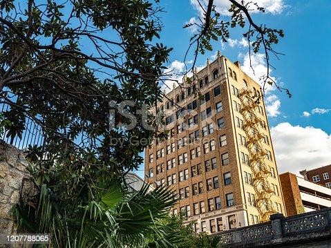 istock Architecure detail of San Antonio 1207788065