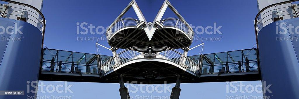 architettura moderna royalty-free stock photo