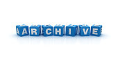 istock Archive Buzzword Cubes - 3D Rendering 928931374