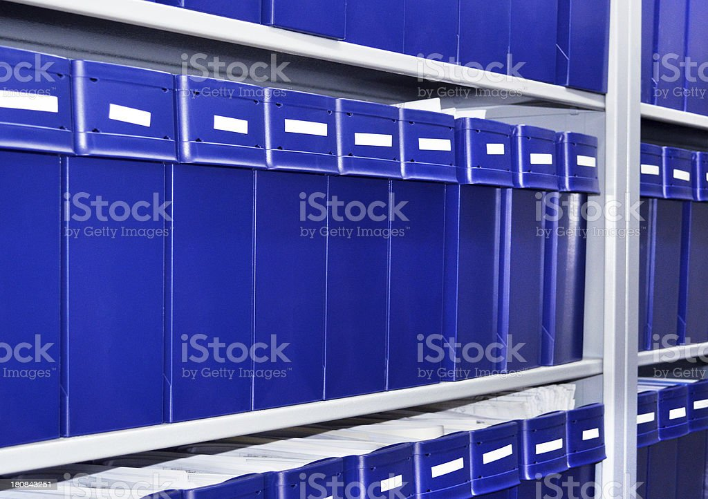 Archive (Click for more) royalty-free stock photo