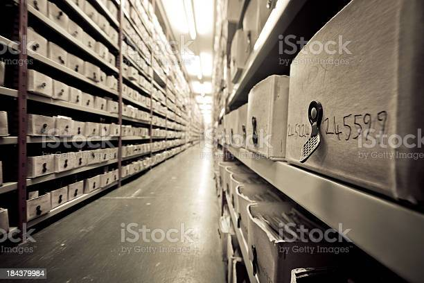 Archive Stock Photo - Download Image Now
