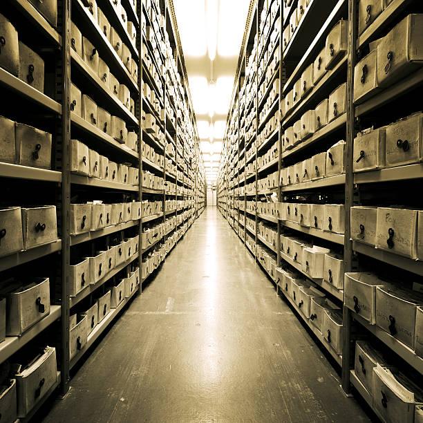 Archive - foto de acervo