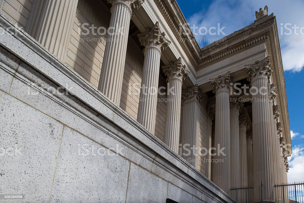 Archives Of The United States Of America stock photo