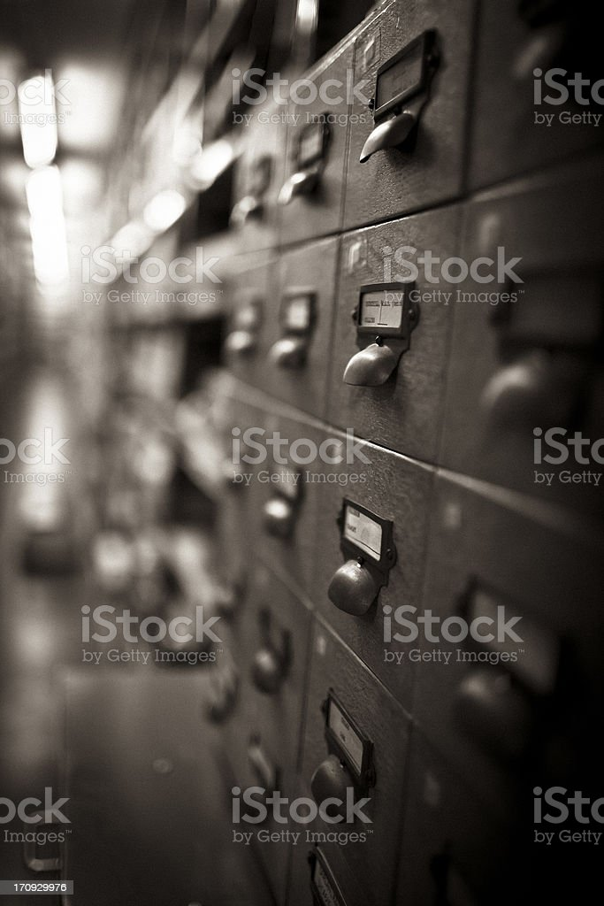 Archives stock photo