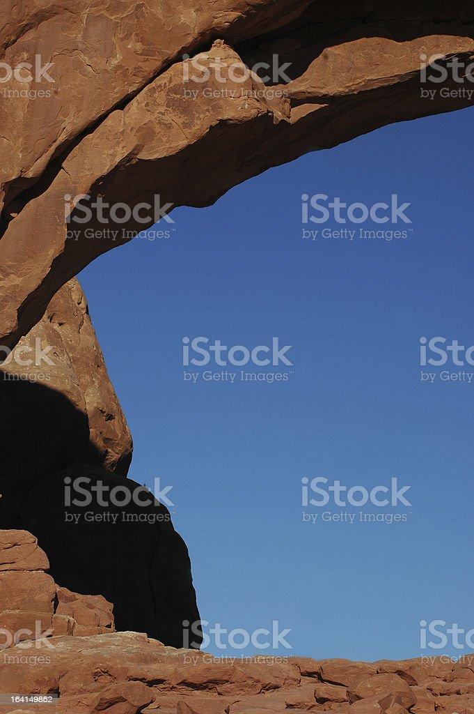 Archs National Park, Utah stock photo