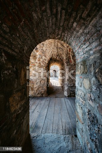 Archway in fortress