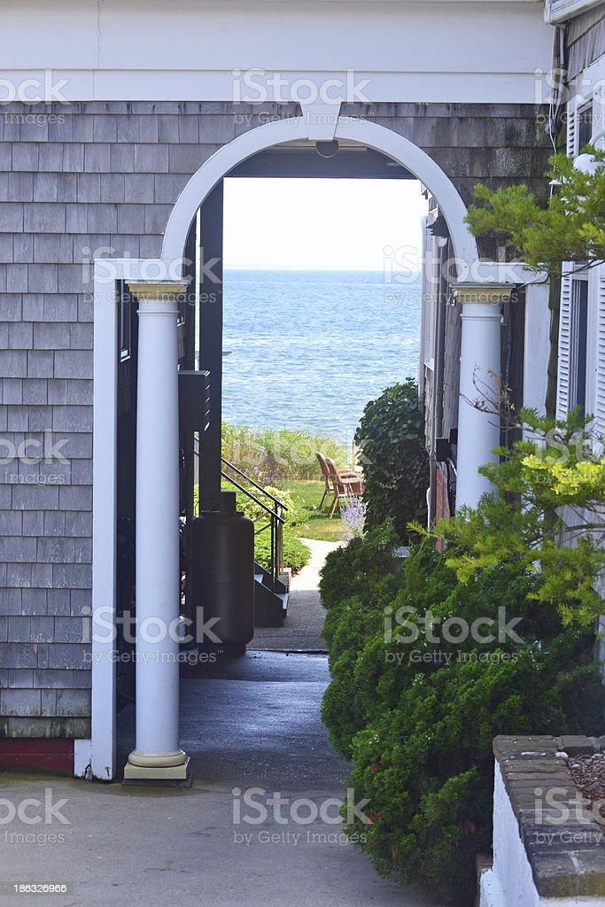 Archway stock photo