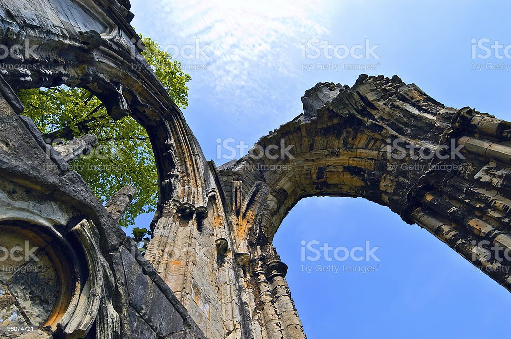 Archway ruins royalty-free stock photo