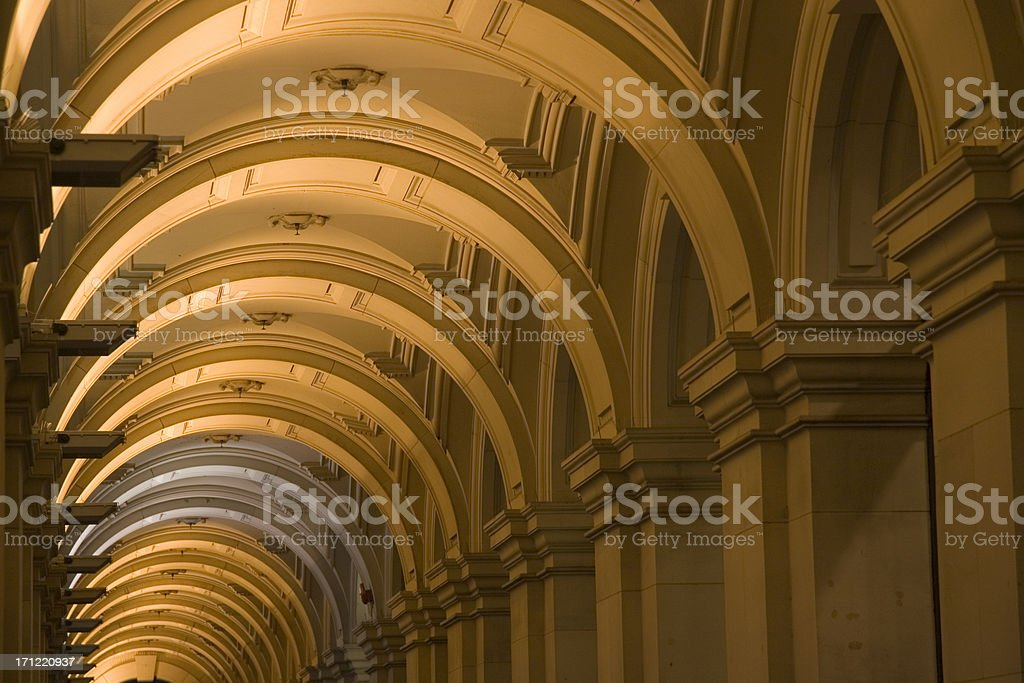Archway walktrhough royalty-free stock photo
