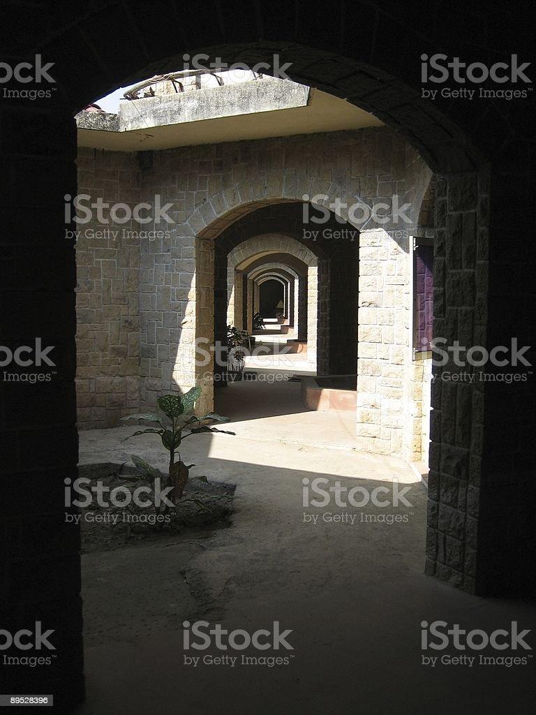 Archways to Eternity 免版稅 stock photo