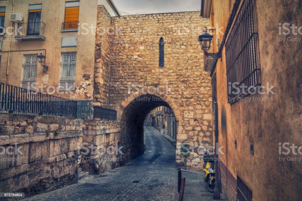 Arco de San Lorenzo in Jaen, Spain stock photo