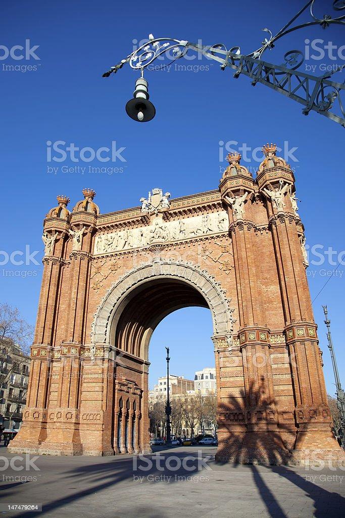 Arco del triunfo arco di trionfo di barcellona for Barcellona estate