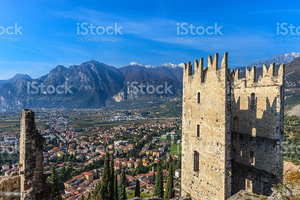 Arco, Italy stock photo