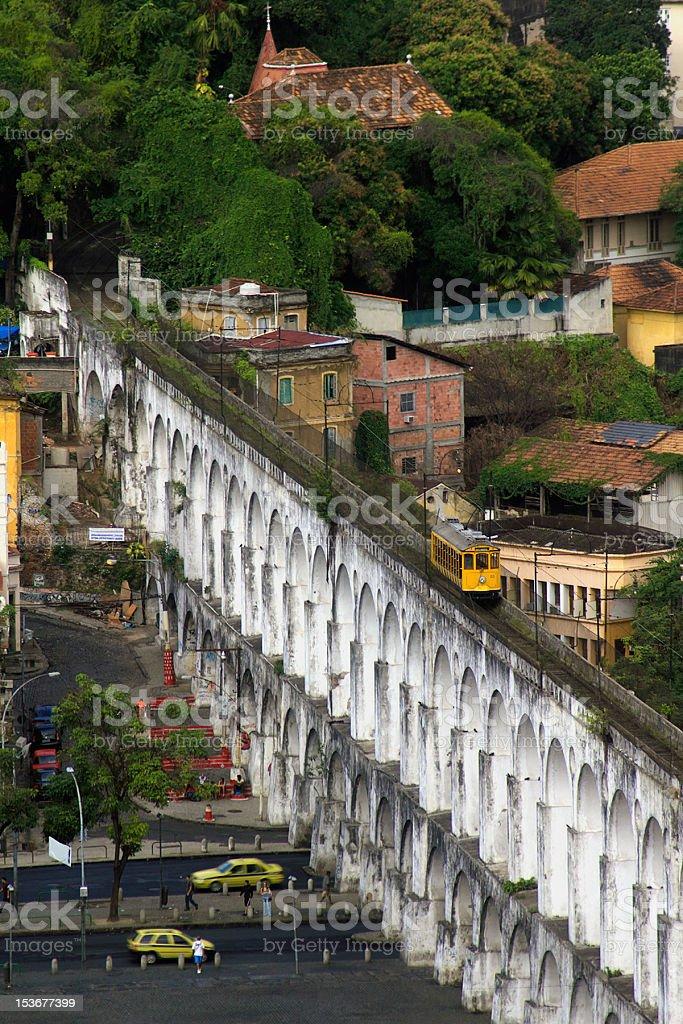 Arcos da Lapa in Rio de Janeiro stock photo