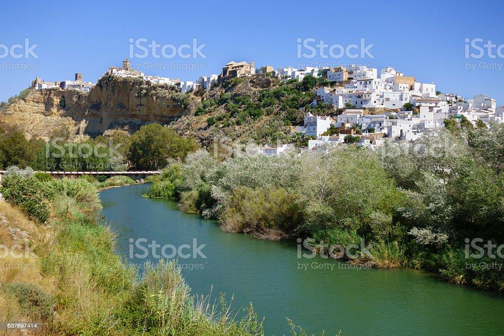 Arcos de la Frontera, Andalusia, Spain stock photo