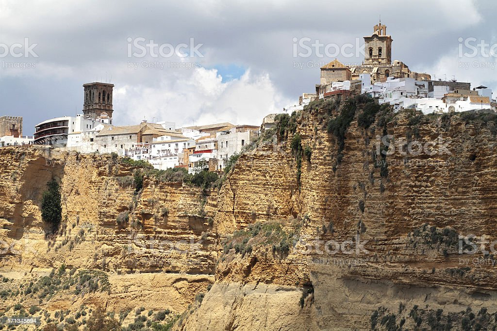 Arcos de la Frontera, Cadiz Province, Spain stock photo