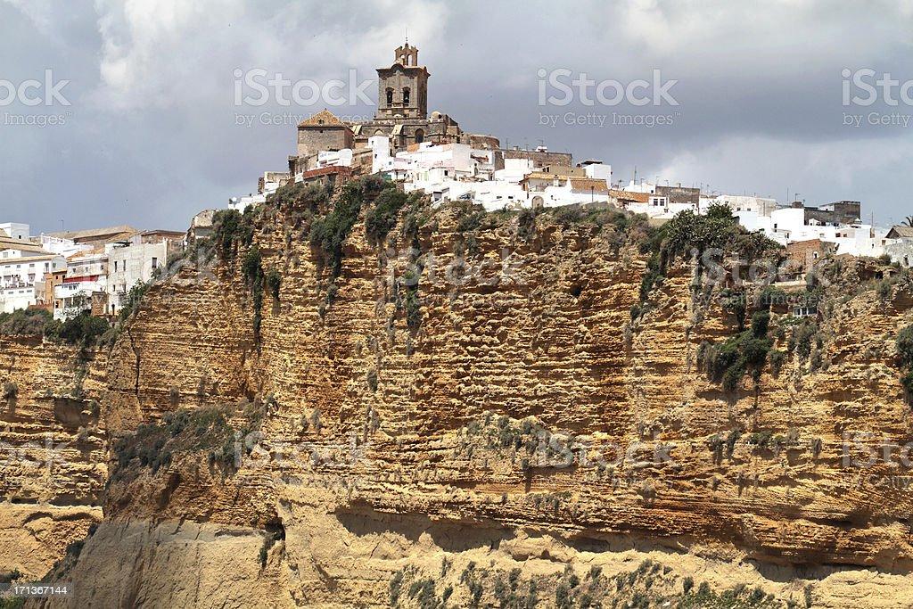 Arcos de la Frontera, Cadiz Province, Spain royalty-free stock photo