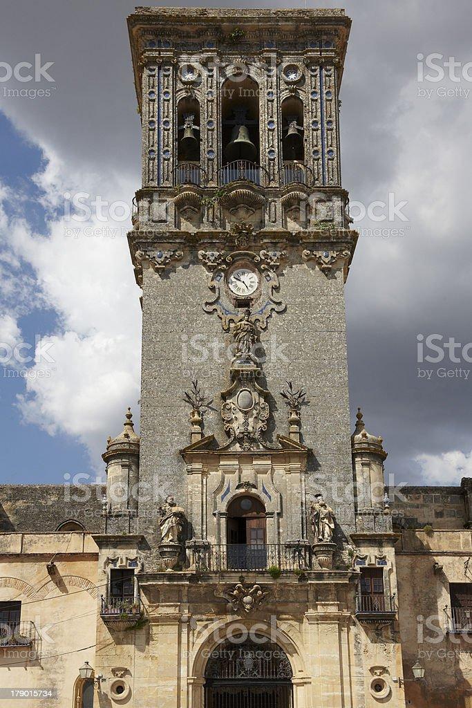 Arcos de la Frontera, Cádiz. stock photo