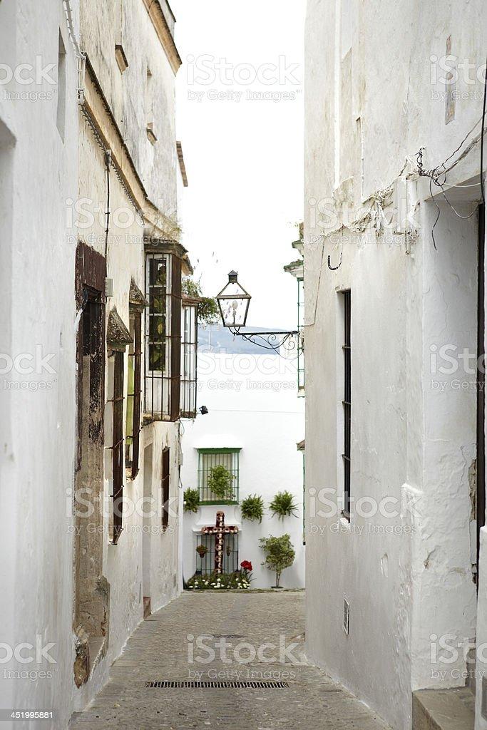 Arcos de la Frontera, Cádiz. royalty-free stock photo