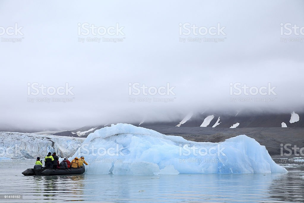 Arctic Exploration royalty-free stock photo